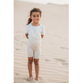 Silly Silas cotton shorty tights cream blend