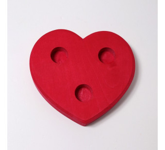 Grimms heart red large (710)