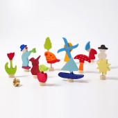 Grimms set of 12 figurines (3050)