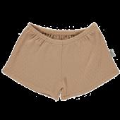 Poudre Organic korte broek short cardamome  indian tan