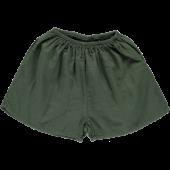 Poudre Organic korte broek short cardamome  forest green