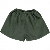 Poudre Organic  shorts cardemome Forest green