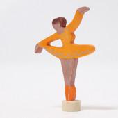 Grimms steker ballerina oranje  (3326)