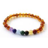 amber bracelet for adults cognac chakra