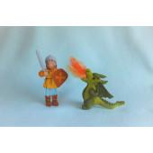 Joris and the dragon  (atelier Pippilotta)