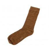 Joha dunne sokken 76% wol (5008) koperkleur