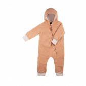 Pure Pure gekookte wollen overall dusty apricot