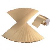 Golden strokes of carton to make crowns