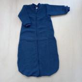 Lilano brushed woolen sleeping bag navy striped