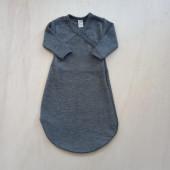 Lilano wool silk sleeping bag grey