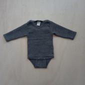 Lilano wool silk body grey
