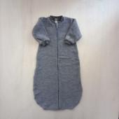 Lilano brushed woolen sleeping bag grey