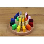 Kleine Knoest round crayon holder 12/12