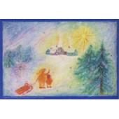 Advent calendar medium Bernadette Lips Weihnachtsdorf