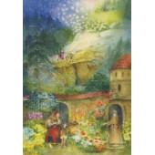 Advent calenda small froms Lesch: Die Christrose