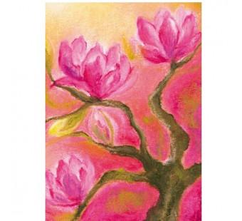Postkaart Magnolia (Baukje Exler)