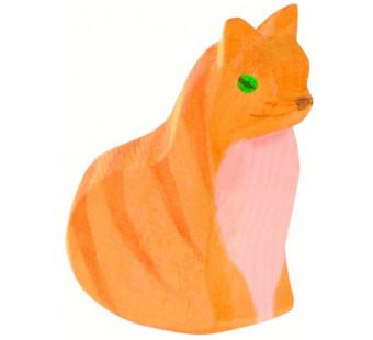 Ostheimer kat zittend (11401)