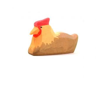 Ostheimer liggende kip bruin (13122)