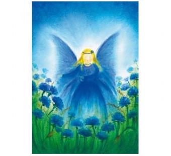 Postkaart Het vlindervrouwtje (Baukje Exler)