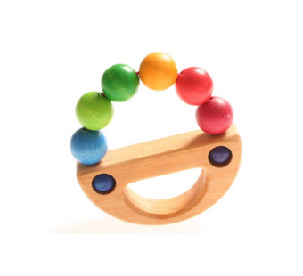 Grimms grasping toy rainbow boat (8126)