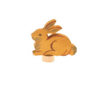 Grimms steker zittend konijn (4232)