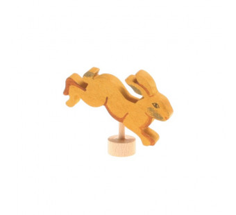 Grimms traditional figurine jumping rabbit (4233)