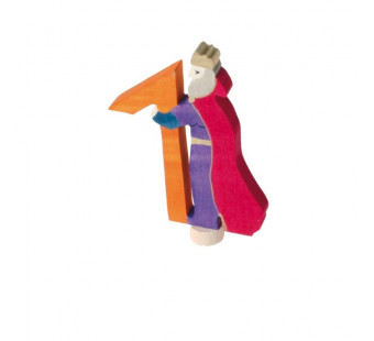Grimms traditional figurine fairy tale 1 with king  (4910)
