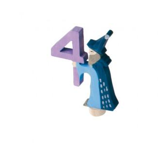 Grimms steker sprookjes 4 met tovenaar (4940)