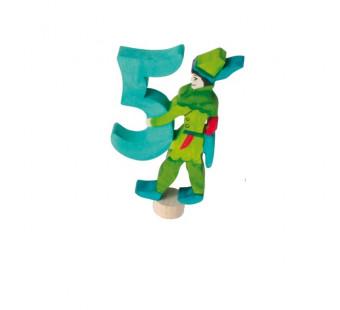 Grimms steker sprookjes 5 met robin hood (4951)