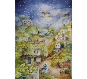 Adventskalender klein van Lesch Marias Kleiner Esel
