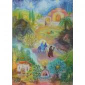Adventskalender klein van Koconda Marias kleiner Esel