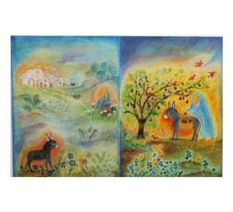 Advent lantern from  Bernadette Lips - Mary's little donkey