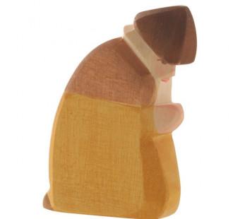 Ostheimer Shepherd kneeling (40501)