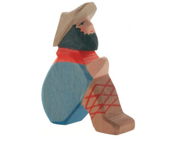 Ostheimer Shepherd sitting  (40503)