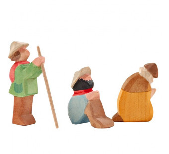 Ostheimer Shepherds small 3 pieces (66520)