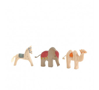 Ostheimer King's Animals small 3 pieces (66540)