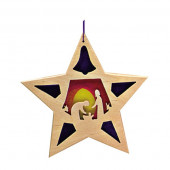Ostheimer transparante ster 'De Heilige familie' (5530256)
