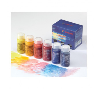 Stockmar water colours 6 standard colours 20ml each