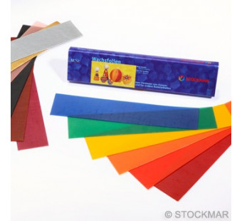 Stockmar Decorating Wax 20x4 cm/7.87x1.57 inch - 12 colours