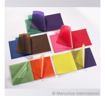 Vliegerpapier 16cm*16cm en 22*22cm  100 vel 10 kleuren
