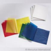 Vliegerpapier 16cm*16cm 100 vel basiskleuren kleuren