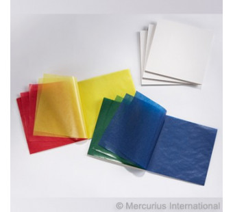 Kite paper  16cm*16cm 100 sheets 5 basic colours