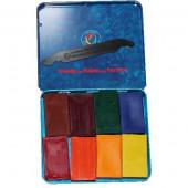 Stockmar wasblokjes 8 stuks, kleuter kleuren