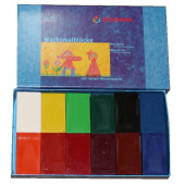 Stockmar beeswax blocks 12 colours in cardboard package