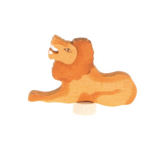 Grimms handbeschilderde steker leeuw (4120)