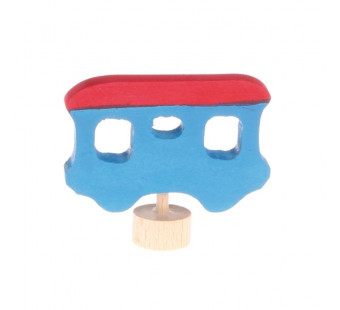 Grimm traditional figure carriage red/blue (3370)