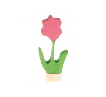 Grimms traditional figurine flower pink (3600)