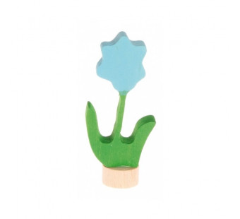Grimms steker bloem blauw (3610)