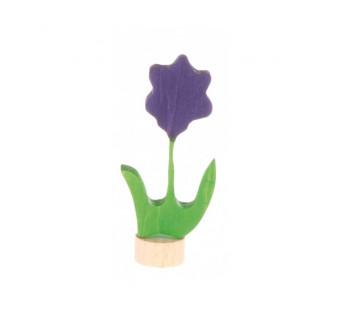 Grimms steker bloem paars (3620)