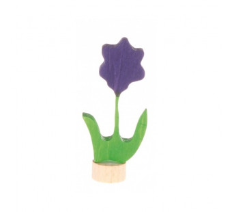 Grimms  traditional figurine flower purple (3620)
